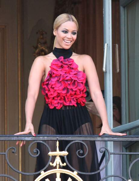 Le regard charbonneux de Beyoncé