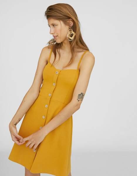 Robe de saison : jaune moutarde