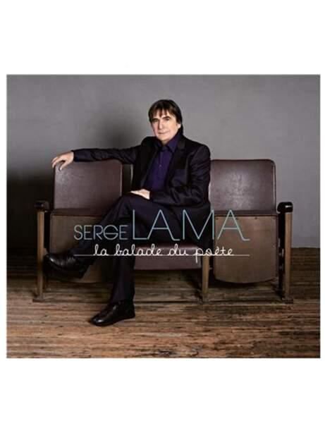 CD Serge Lama, La balade du poète, 18,99 euros