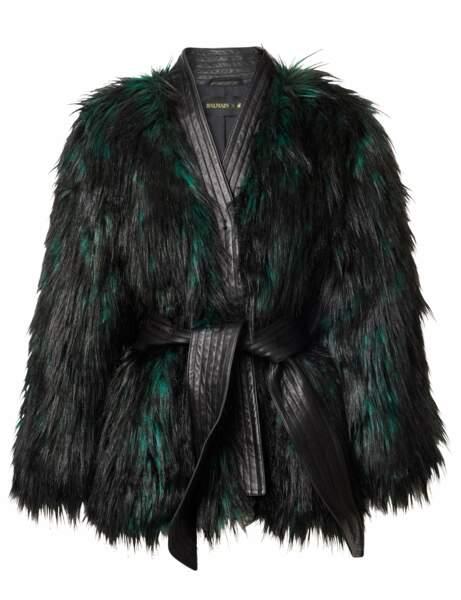 La veste à plumes