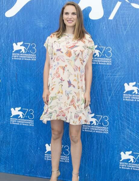 Natalie Portman : robe printanière