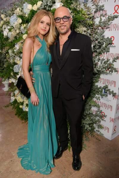 Pascal et Julie Obispo, couple heureux et amoureux au Sidaction