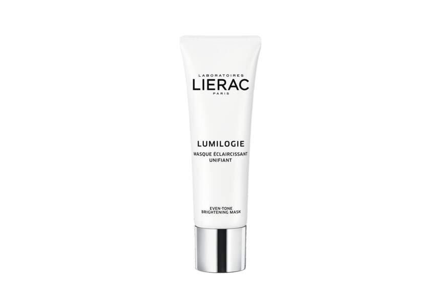La Masque éclaircissant unifiant Lumilogie Lierac
