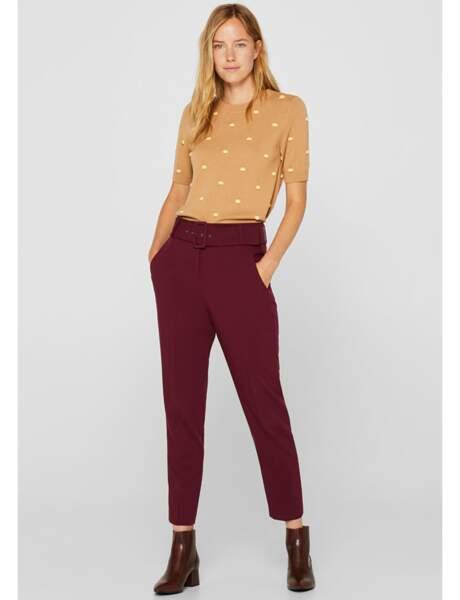 Pantalon : décontracté