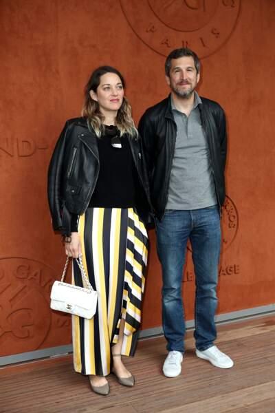 Guillaume Canet et sa compagne Marion Cotillard le 9 juin 2019