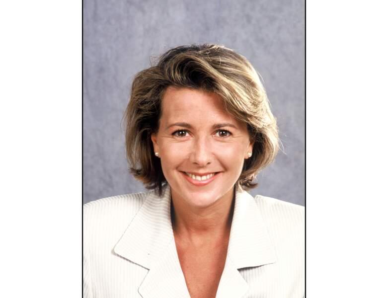 En 1996, Claire Chazal a 40 ans