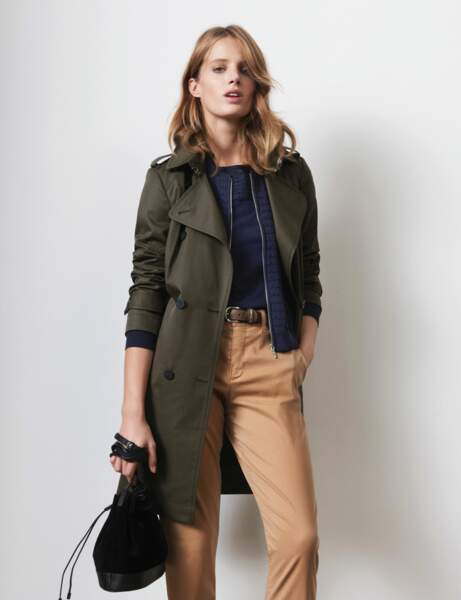 Le trench militaire