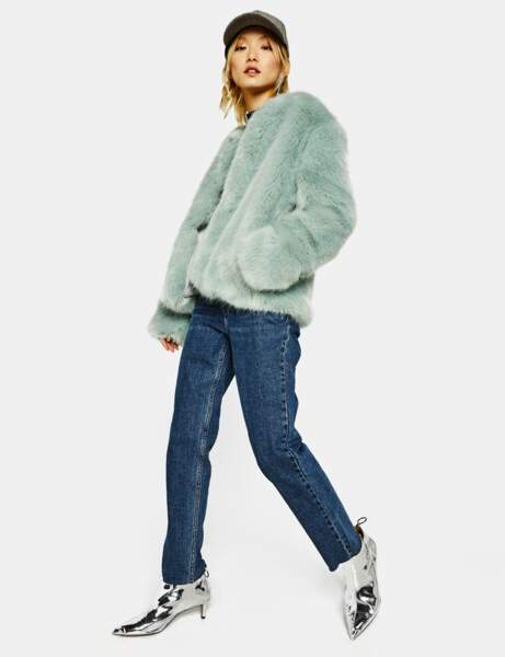 15 manteaux en fausse fourrure pour bien adopter la tendance
