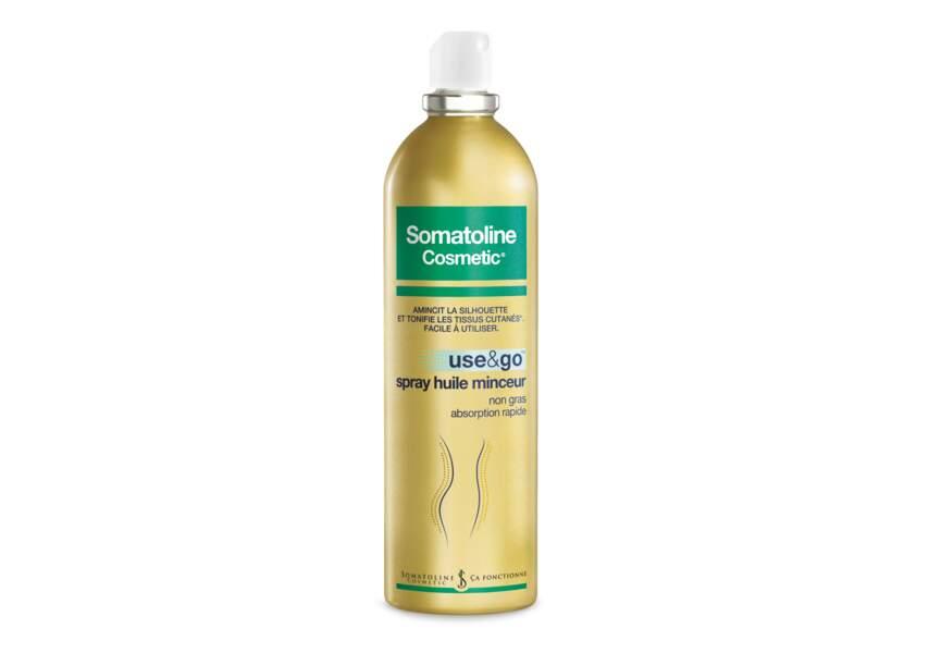 Marianne a testé Use & Go Spray Huile Minceur Somatoline