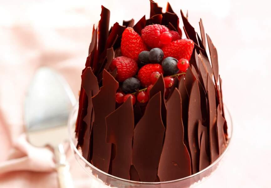 Des copeaux déco pour mon gâteau