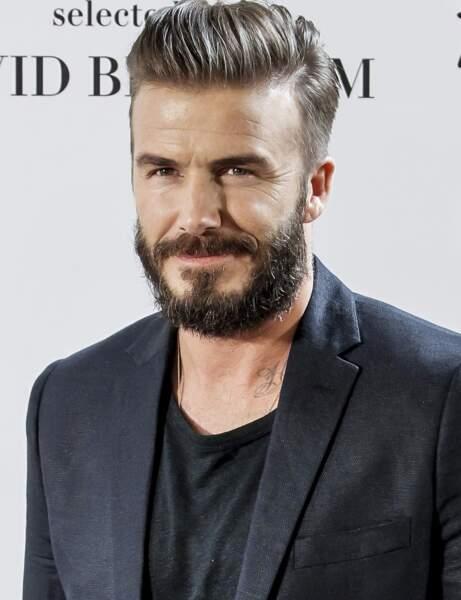 ...le footballeur David Beckham, ont la trouille...