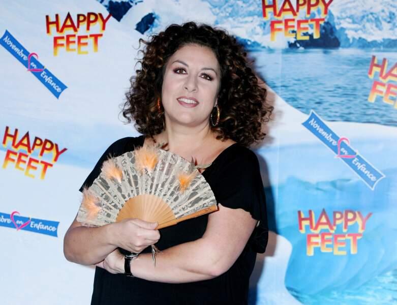 """Marianne James à l'avant-première du film """"Happy Feet"""" en 2006"""