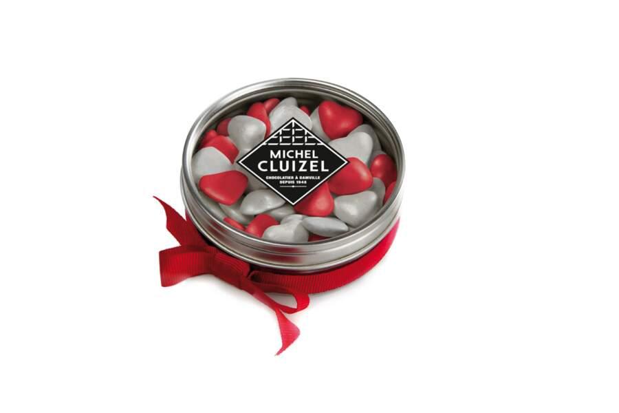 Des petits cœurs croquants pour les amoureux du chocolat