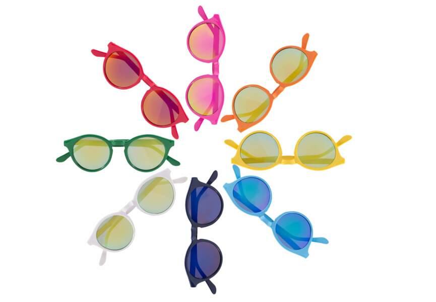 Les lunettes multicolores
