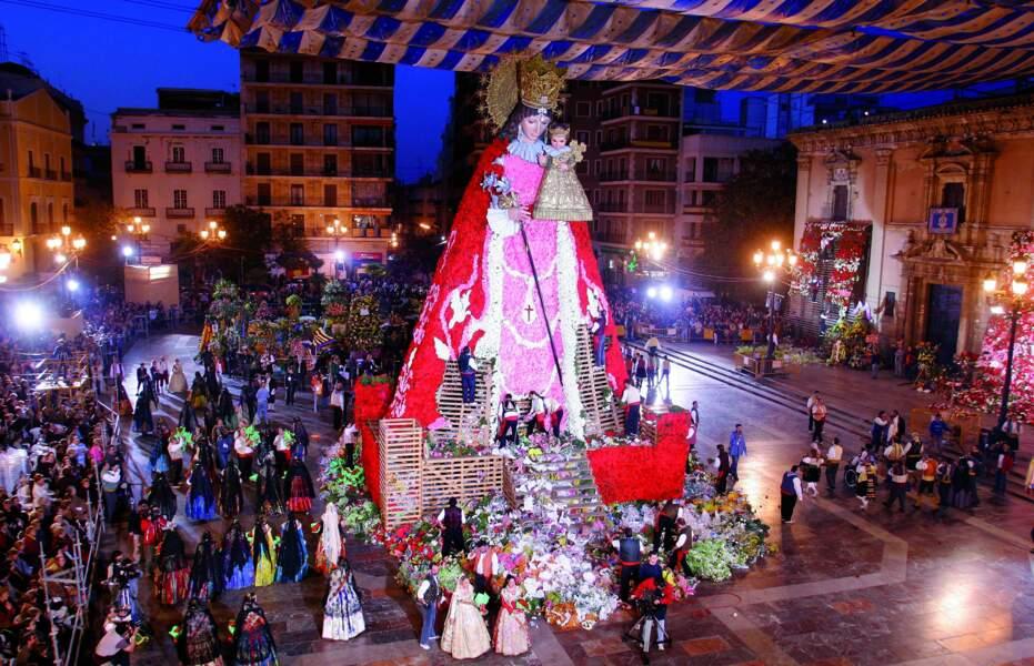 Procession de la Vierge de Los Desamparados