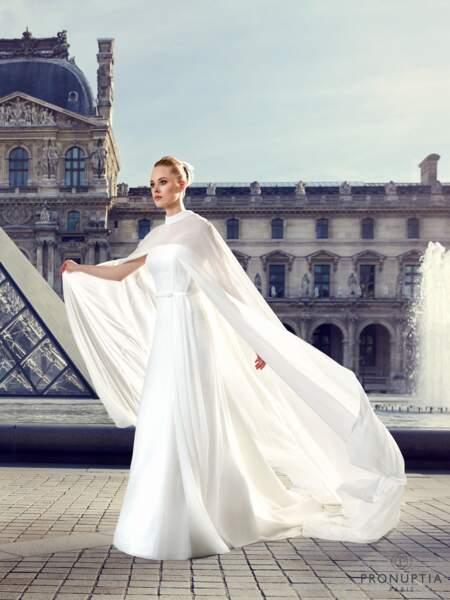 Mariage en hiver : Robe de mariée Dardanelles par Pronuptia
