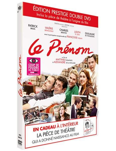 DVD Le prénom, la pièce + le film, 19,99 euros