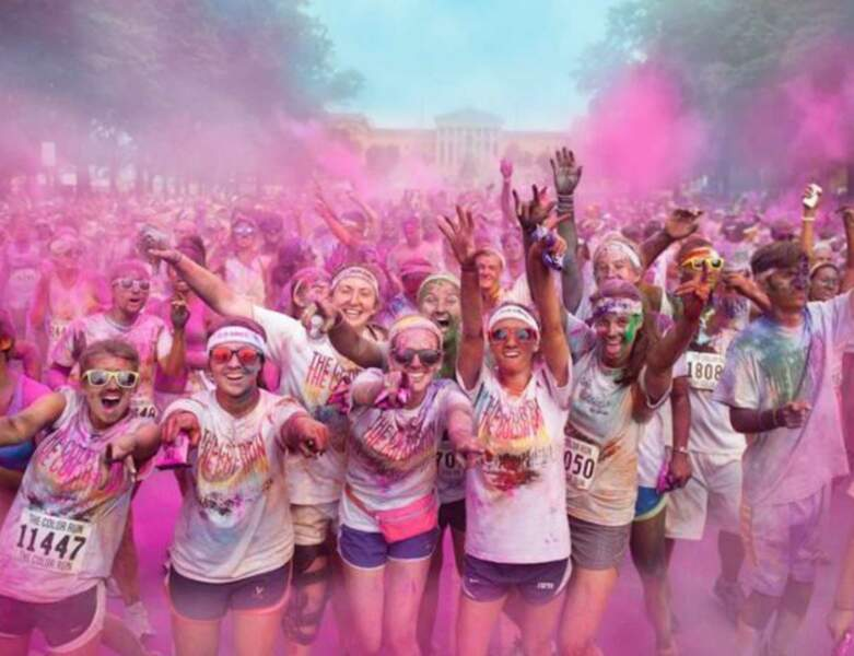 Color run, Mud day…Des courses d'un nouveau genre