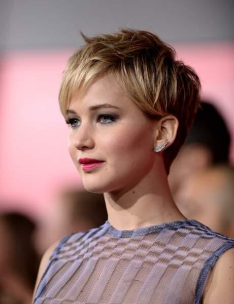 La coupe pixie de Jennifer Lawrence
