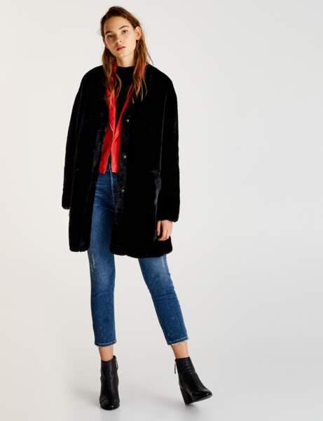 Manteau de fourrure : rock