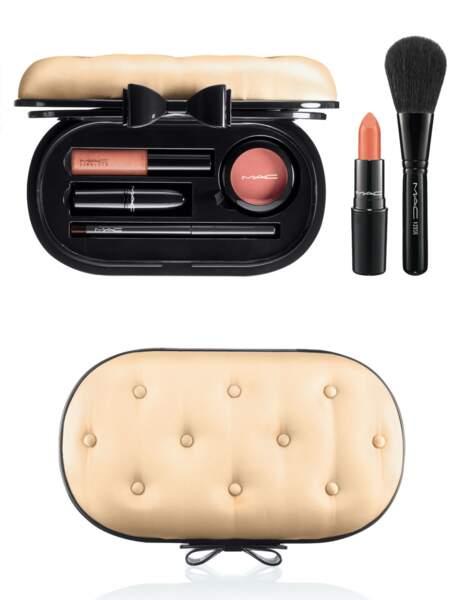 Pochette make-up rétro