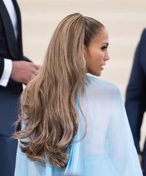 Jennifer Lopez avec sa queue-de-cheval haute