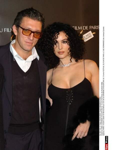 Vincent Cassel et Monica Bellucci : 2004