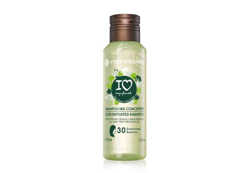 Shampooing Concentré I Love My Planet Yves Rocher