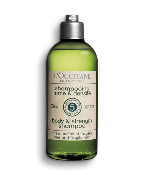 Le shampooing force et densité L'Occitane