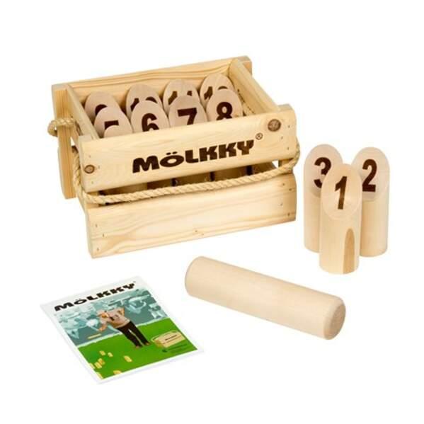 Un jeu de Mölkky