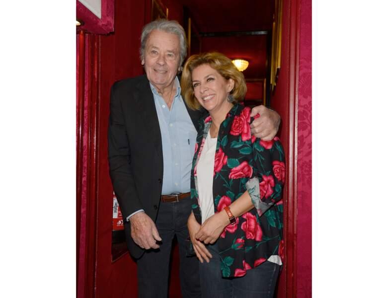 À 81 ans (2016), il pose avec Corinne Touzet