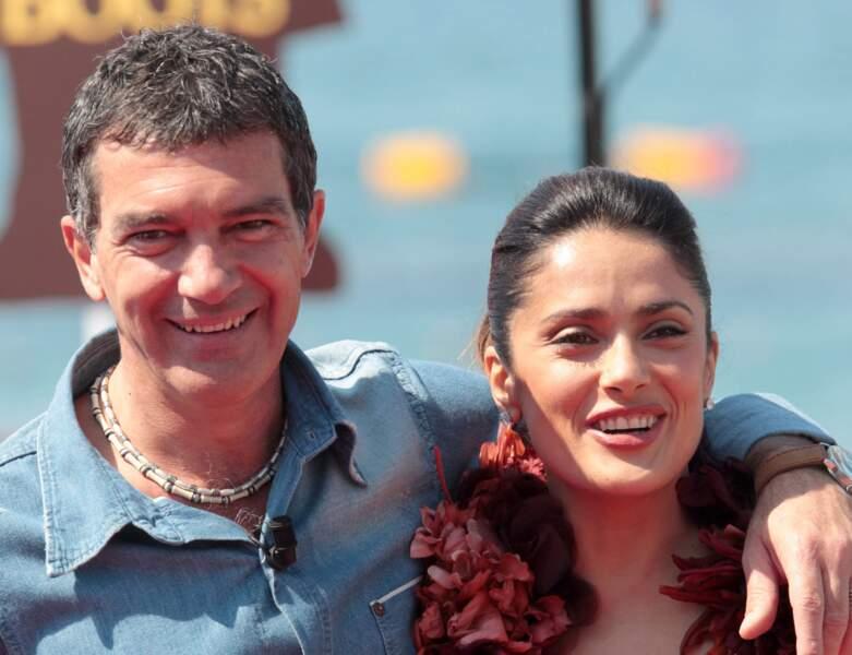 Le duo d'acteurs pose au 64e Festival de Cannes en 2011