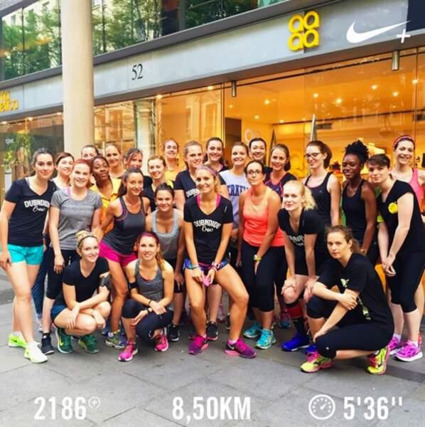 Organiser des sessions running à Paris avec le #dubndiducrew est une expérience formidable !