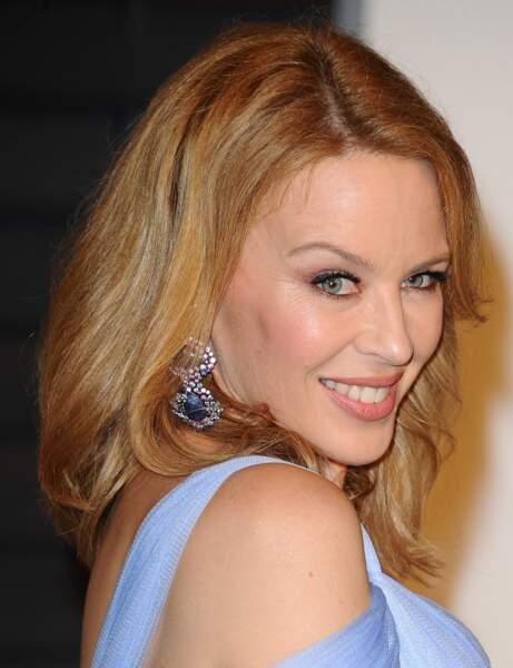 Kylie Minogue a la peur (étrange) des...