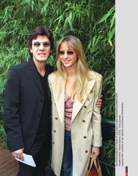 Marc Lavoine et Sarah Poniatowski, 2002