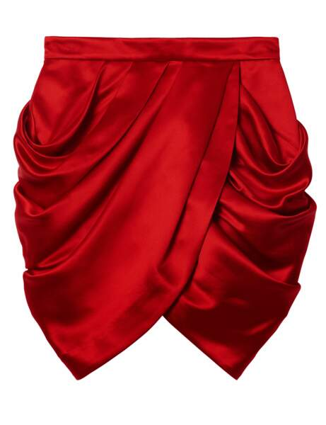 La jupe drapée
