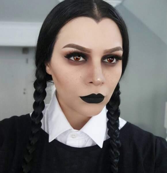 Maquillage d'Halloween écolière