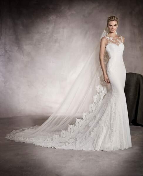 Robe de mariée Pronovias : Prunelle