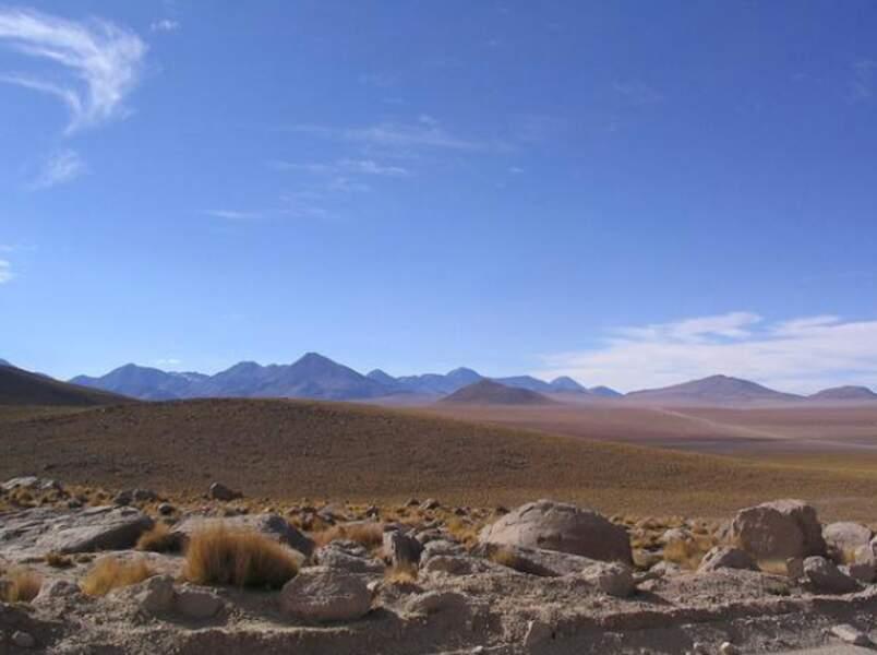 Le désert d'Atacama dans son état naturel