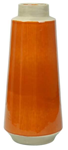 Vase ocre