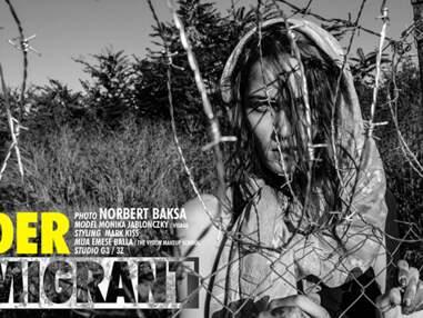 Réfugiés : le shooting de mode qui passe mal
