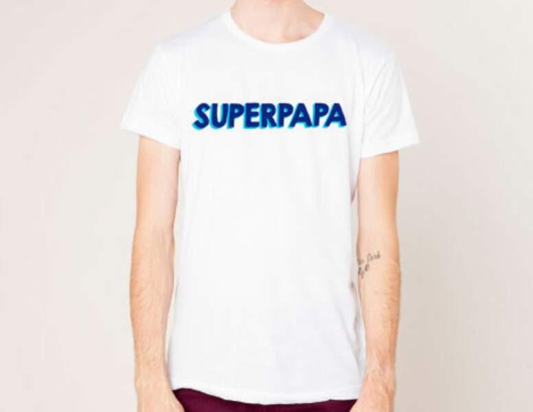T-shirt superpapa