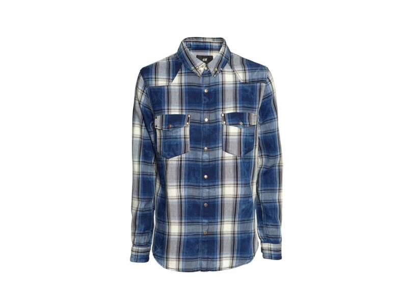La chemise à carreaux country