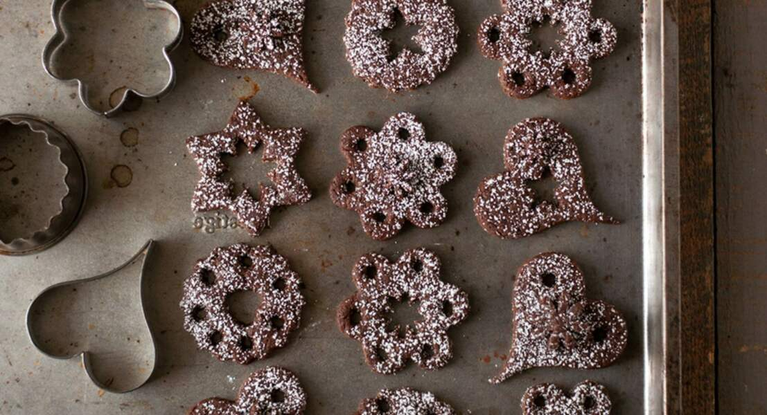 Bredele au cacao et sucre de coco