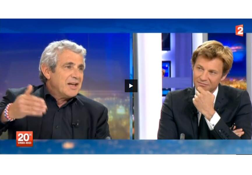 Michel Boujenah au journal de 20 h