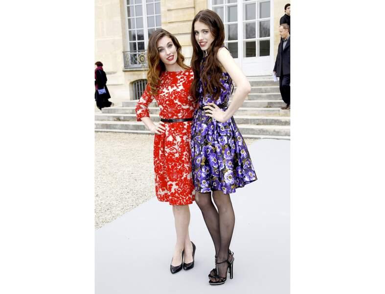 Sarah et Rainey Qualley, les filles d'Andie MacDowell
