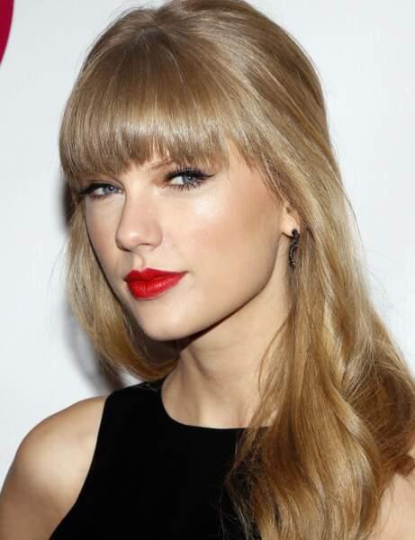 Un rouge mat comme Taylor Swift