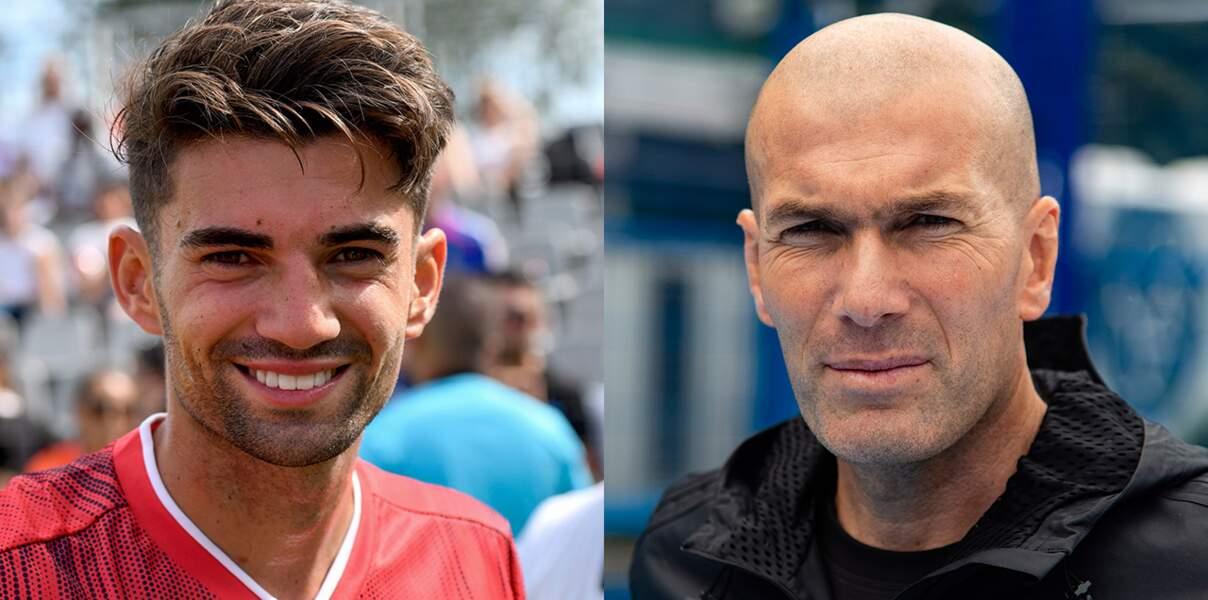 Enzo et Zinedine Zidane