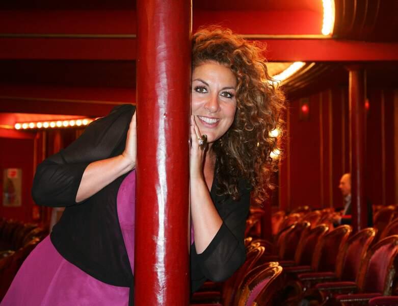 Marianne James en 2009, au théâtre des Folies Bergères