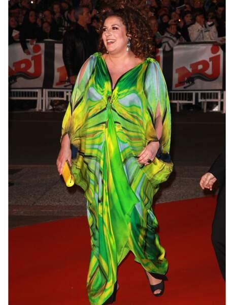 Marianne James aux NRJ Music Awards en 2011